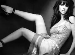 Fonds d'écran Célébrités Femme jlh_noir_et_blanc