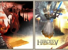 Wallpapers Dual Screen Heroes V