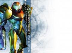 Fonds d'écran Jeux Vidéo Metroid Prime 3 Corruption
