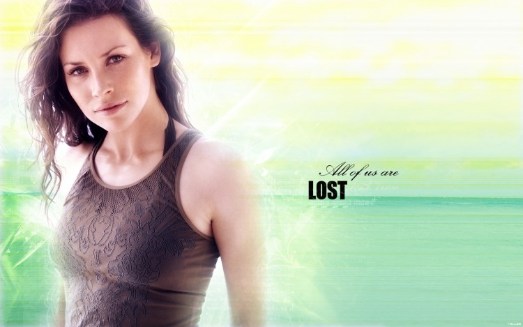 Fonds d'écran Séries TV Lost, les Disparus Evangeline Lilly