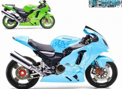 Wallpapers Motorbikes kawasaki zx12r