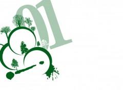 Fonds d'écran Art - Numérique sauver la nature 01