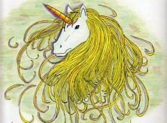 Wallpapers Art - Pencil licorne
