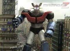Fonds d'écran Manga Mazinger Z 01