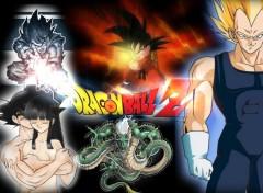 Fonds d'écran Manga petit montage sur DBZ