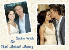 Wallpapers TV Soaps Chad Michael Murray et Sophia Bush