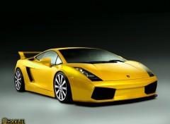 Fonds d'écran Voitures Lamborghini Gallardo GTS-3 Yellow