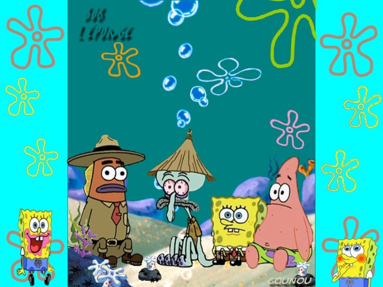 Wallpapers Cartoons SpongeBob SquarePants Sacr� Bob