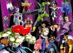 Fonds d'écran Manga mECHANTS DBZ