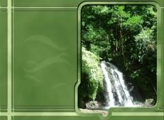 Fonds d'écran Nature La Cascade aux Ecrevisses