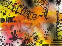 Wallpapers Art - Painting typo graff
