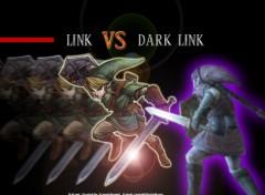 Wallpapers Video Games Link vs Dark Link