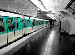 Fonds d'écran Transports divers STATION de METRO