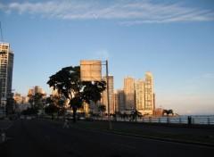 Fonds d'écran Voyages : Amérique du nord Panama City, Calle Balboa & Paitilla
