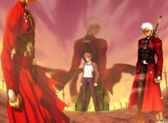 Fonds d'écran Manga Archer
