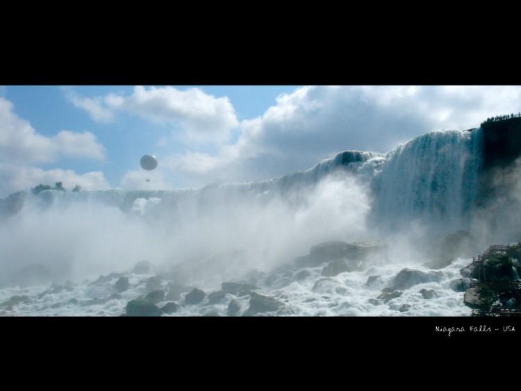 Fonds d'écran Nature Cascades - Chutes Niagara Falls