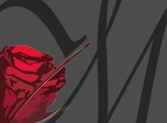Wallpapers Digital Art Rose Design