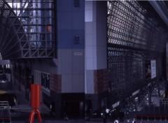 Fonds d'écran Voyages : Asie Gare de Kyoto ( stéréophoto)