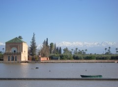 Fonds d'écran Voyages : Afrique Marrakech - la Menara
