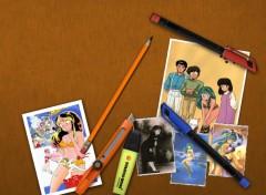Fonds d'écran Manga Urusey Yatsura