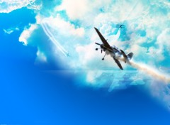 Wallpapers Planes Sky Generator Airlines
