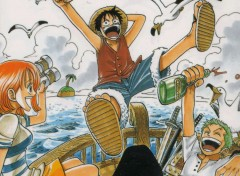 Wallpapers Manga depar pour la grande aventure