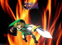 Wallpapers Video Games Link tout feu tout flamme