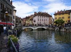 Fonds d'écran Voyages : Europe Annecy et ces cannaux