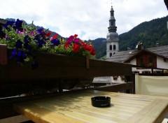 Fonds d'écran Constructions et architecture La Clusaz, alpes françaises