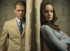 Wallpapers TV Soaps Michael et Sara