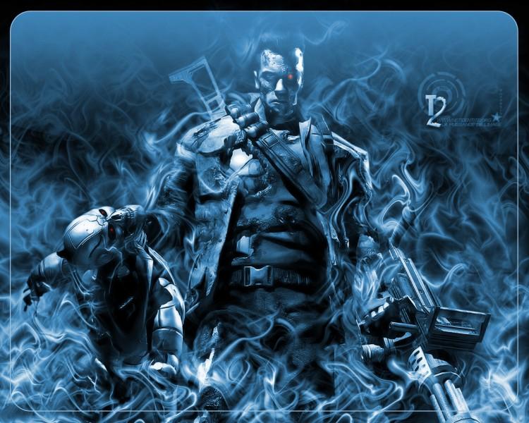 Fonds d'écran Cinéma Terminator Terminator_wall