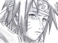 Wallpapers Art - Pencil Naruto adulte