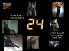 Wallpapers TV Soaps Jack Bauer