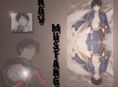 Fonds d'�cran Manga Roy Mustang