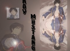 Fonds d'écran Manga Roy Mustang