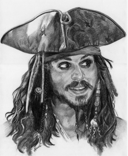 portrait de pirate