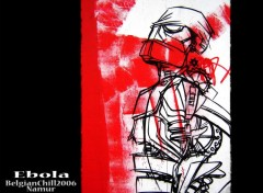 Wallpapers Art - Painting Ebola - Belgian chill 2006