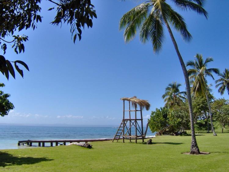 Wallpapers Nature Seas - Oceans - Beaches Une plage en république Dominicaine