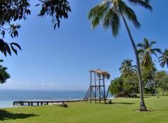 Wallpapers Nature Une plage en république Dominicaine