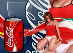 Wallpapers Brands - Advertising CocaCola Girl