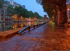 Fonds d'écran Voyages : Europe Canal St Martin