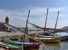 Wallpapers Boats Collioure