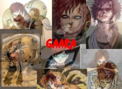 Fonds d'écran Manga mix of gaara