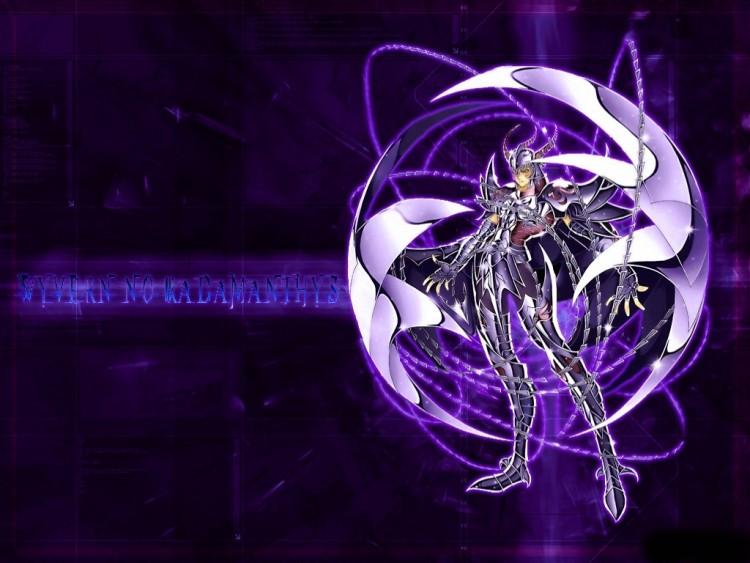 Fonds d'écran Manga Saint Seiya - Les Chevaliers du Zodiaque radamanthe