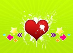 Wallpapers Digital Art Splash My Heart