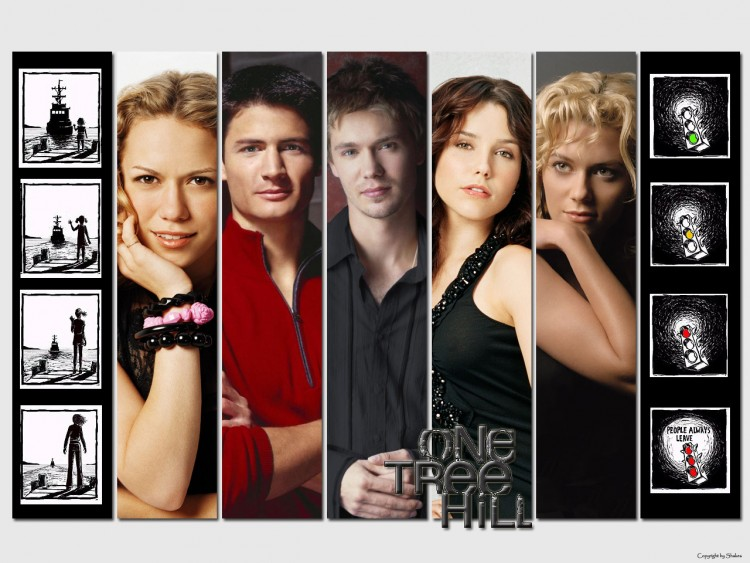 Wallpapers TV Soaps One Tree Hill One tree hill