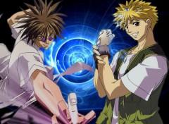 Fonds d'écran Manga mido ban et amano ginji