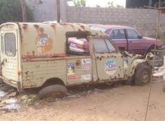 Fonds d'�cran Voitures Reste du Dakar...