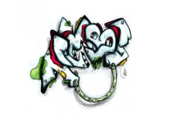 Fonds d'écran Art - Peinture Graff Tembs