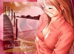 Fonds d'écran Manga screaming flower